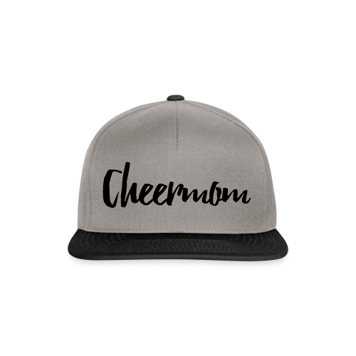 Cheermom Handlettering - Snapback Cap