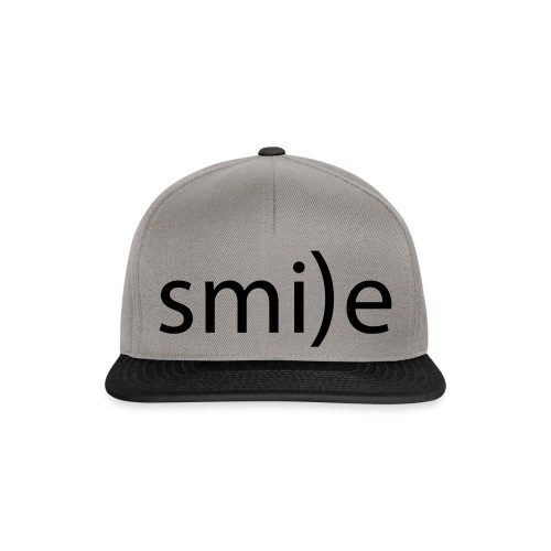 smile Emoticon lächeln lachen Optimist positiv yes - Snapback Cap