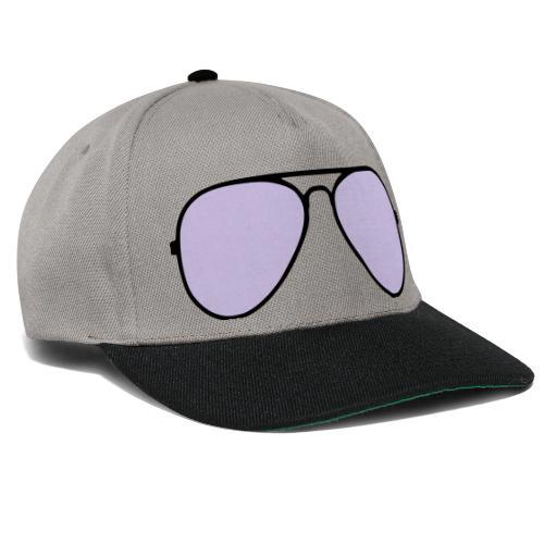 Sonnenbrille - Snapback Cap