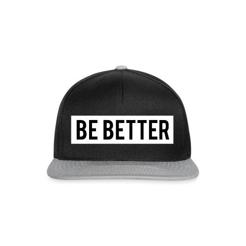 Be Better - Snapback Cap
