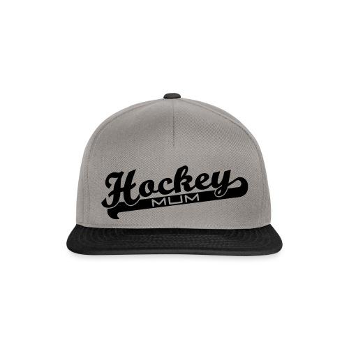 Hockey Mum Script - Snapback Cap