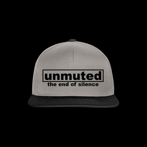 unmuted - Snapback Cap