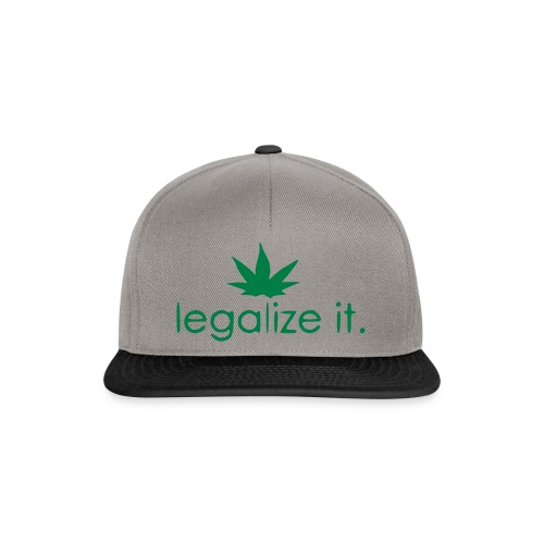 LEGALIZE IT! - Snapback Cap
