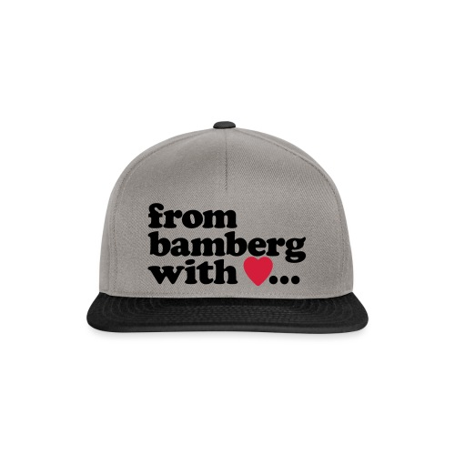 From Bamberg With Love - Snapback Cap