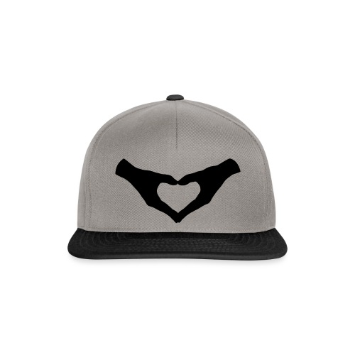 Herz Hände / Hand Heart 2 - Snapback Cap
