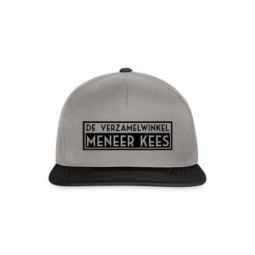 meneerkees_logo_zw - Snapback cap
