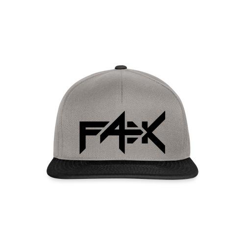 FÆK logo - Snapback Cap