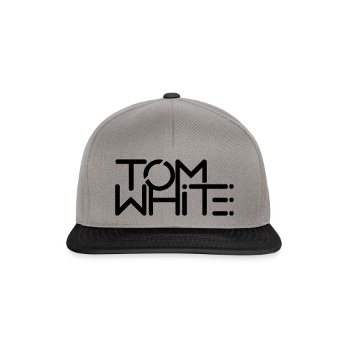tom white logo - Snapback Cap