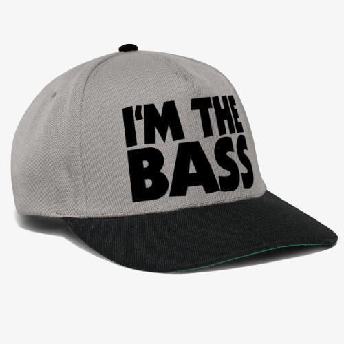 I'm the Bass 2 für Bassisten und Tieftöner - Snapback Cap