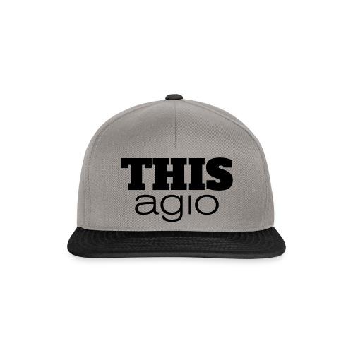 thisagio - Snapback Cap