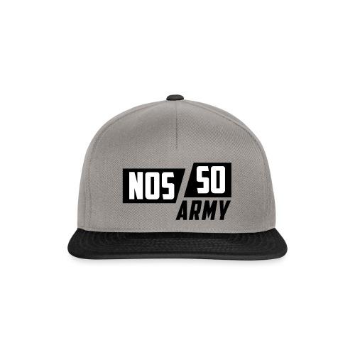 NossoArmy ZWART - Snapback cap