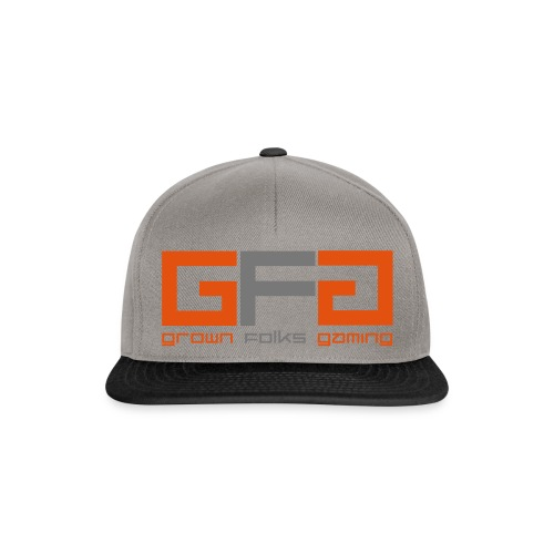 Grown Folks Gaming Official Tshirt - Snapback Cap