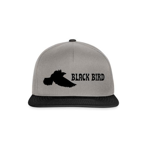 BLACK BIRD - Snapback Cap