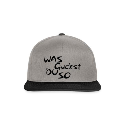 was guckst du so - Snapback Cap