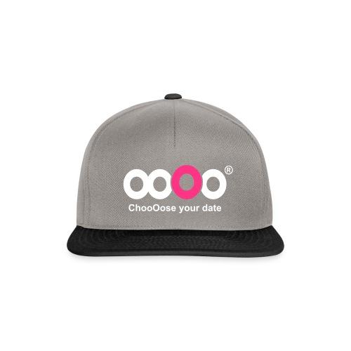ooOo logo dark - Snapback Cap