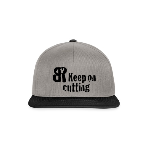 keep on cutting 1 - Snapback Cap