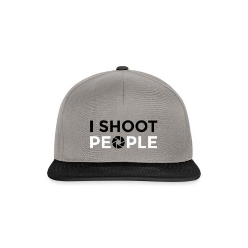 I shoot people - Snapback Cap