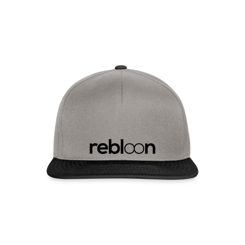 rebloon text weiss - Snapback Cap