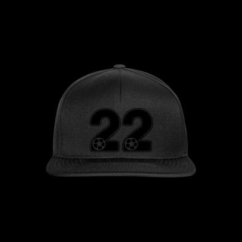foot numero 22 - Snapback Cap