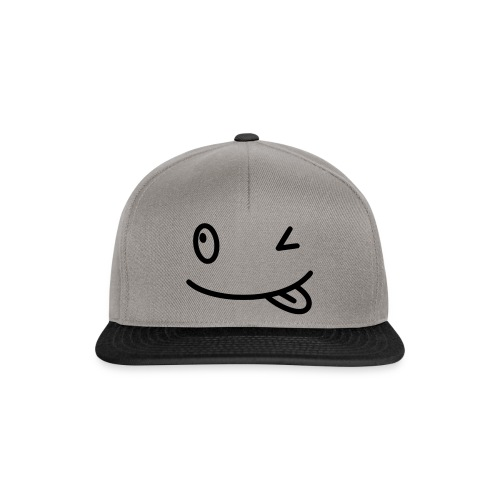 Smiley shirt - Snapback Cap
