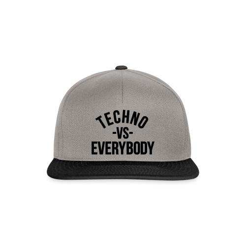 Techno vs everybody - Snapback Cap