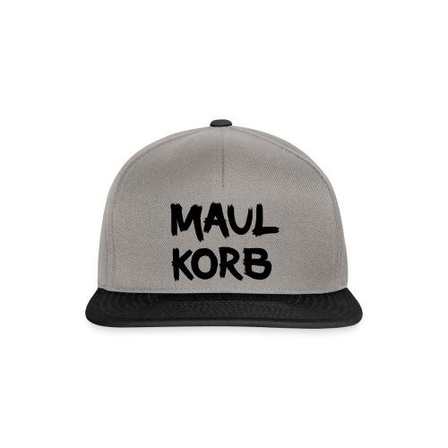 Maulkorb - Snapback Cap