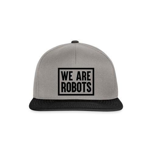 We Are Robots Premium Tote Bag - Snapback Cap