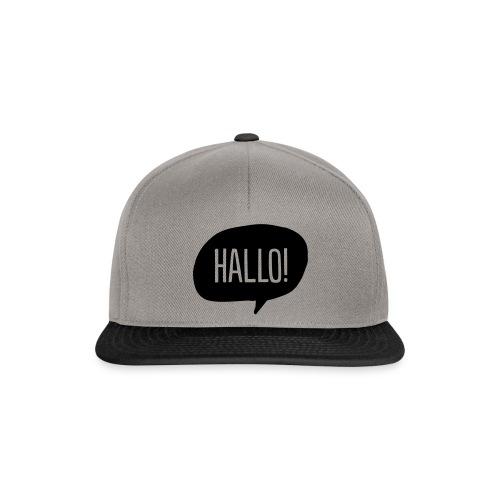 Hallo! - Snapback Cap