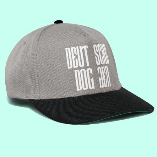 Jackendoggenschrift - Snapback Cap