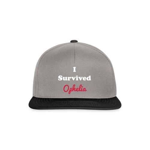 IsurvivedOpheliaWhitered - Snapback Cap