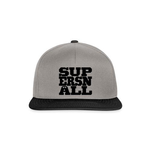 SUPERSNÄLL - Snapback Cap