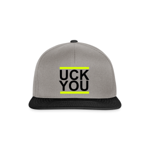 UCK YOU - Snapback Cap