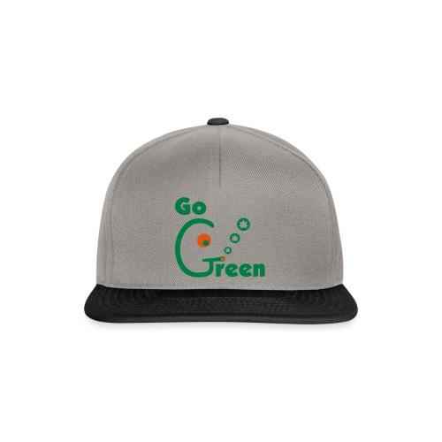 Go Green - Snapback Cap