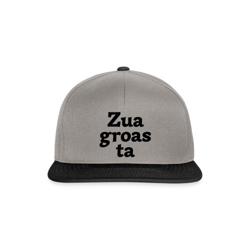 Zuagroasta - Snapback Cap