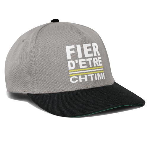 Fier D ETRE Chtimi Noir - Casquette snapback
