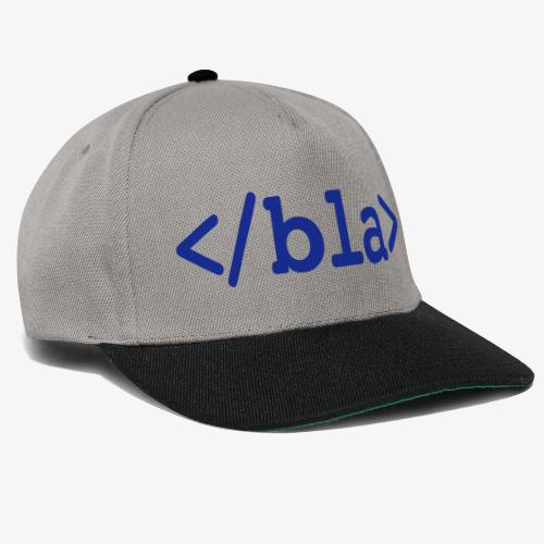 Bla HTML - Snapback Cap