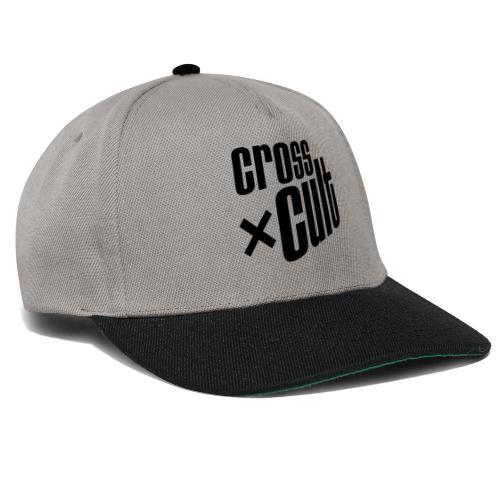 Cross Cult Logo Schwarz - Snapback Cap