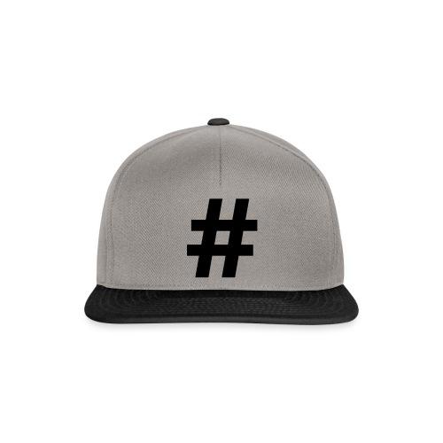 #Hashtag - Snapback cap