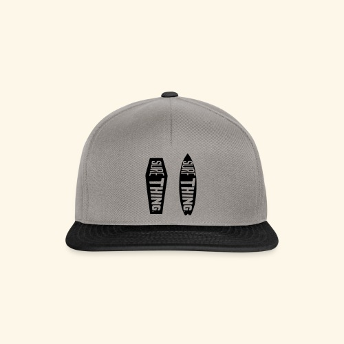 surf thing for sure - Snapback Cap