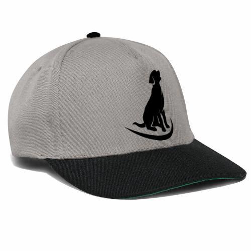 siluetta perro logo colores - Gorra Snapback