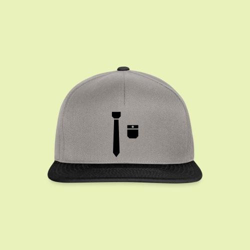 Tie and pocket ( smoking, tuxedo ) - Snapback cap