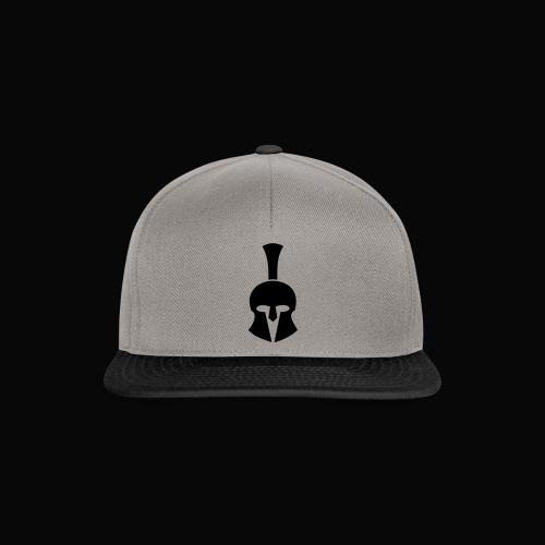 Achilles Helm vorne2 - Snapback Cap