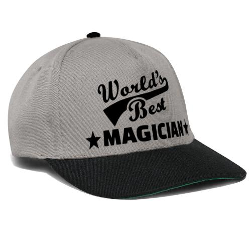 Worlds Best Magician - Snapback Cap