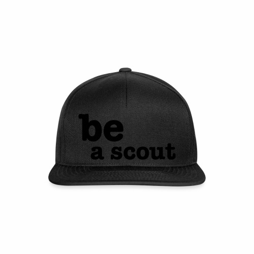 be a scout - Casquette snapback