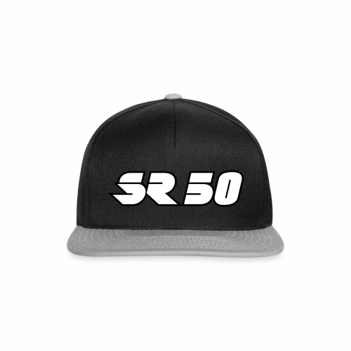 SR50 logo - Snapback Cap