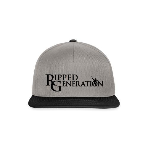 Ripped Generation Tekstilogo - Snapback Cap