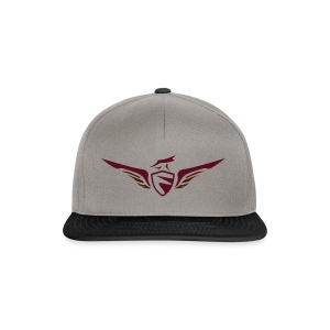FCON Logo (New) Burgundy Red - Snapback Cap