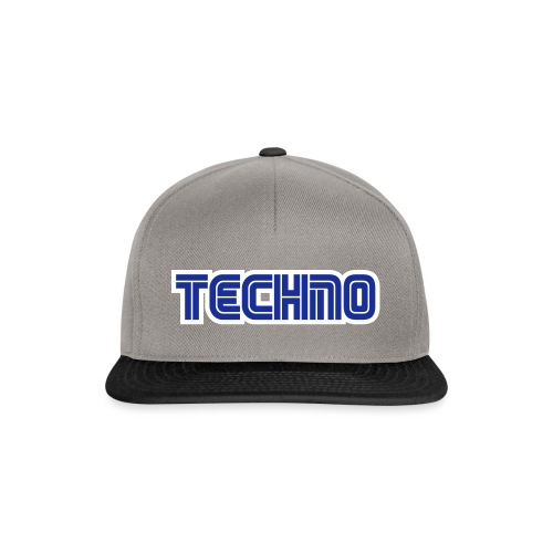 Techno 2 - Snapback Cap