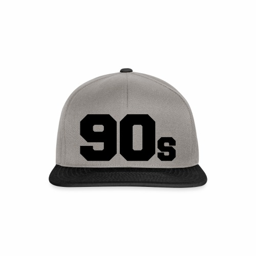 90s - Snapback Cap