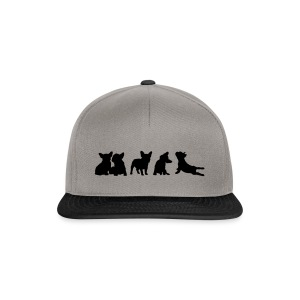 Frenchie-Collection - freie Farbwahl - Snapback Cap